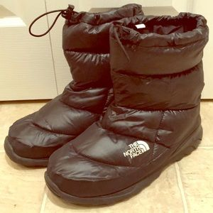 North face men's snow boots 13